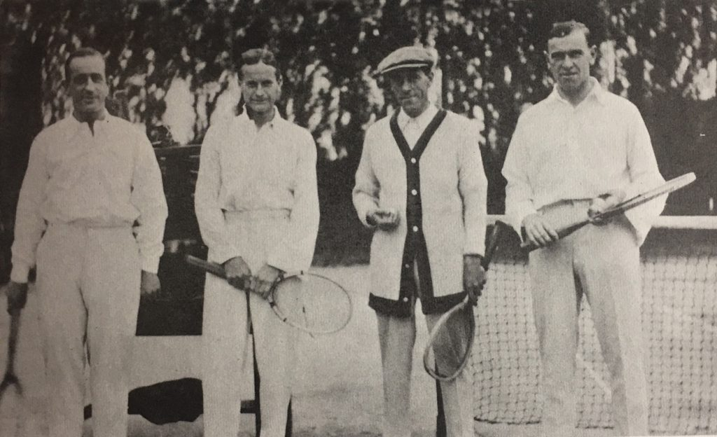 1919–1928 Tennis and Financial Success